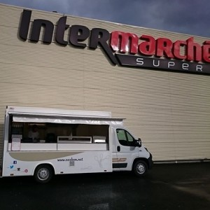 Photo Foot Truck Axébon Intermarché de Beaumont sur oise 95