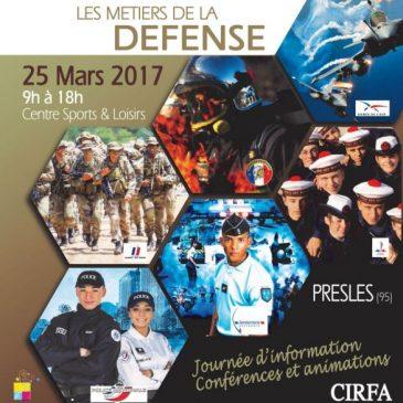 Le Food truck Axébon pour les métiers de la défense à Presles (95)