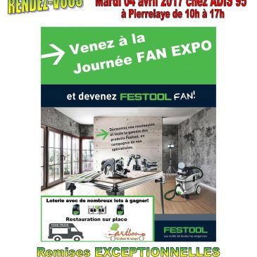 Festool Fan EXPO 2017