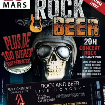 23 Mars 2019>> Rock and beer!!